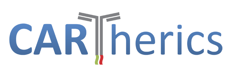 Cartherics – The future of cancer treatment : off-the-shelf cellular immunotherapy for cancer. Logo