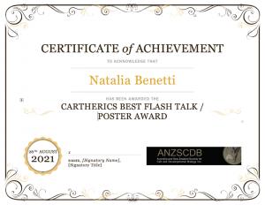 WEHI Doctoral Student Wins Cartherics Award